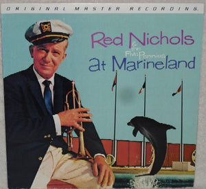 Red Nichols And His Five Pennies ‎– Red Nichols And The Five Pennies At Marineland - Mint- Lp Record 1983 Mobile Fidelity Sound Lab Japan Import MFSL Vinyl - Jazz