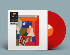 RAYS - You Can Get There From Here - New Vinyl Lp 2018 Trouble In Mind Pressing on Limited Red Vinyl - Post-Punk / Garage / Indie Rock