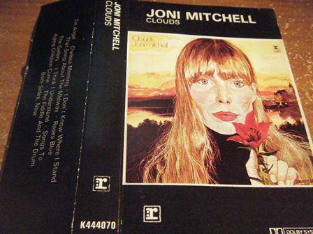 Joni Mitchell - Clouds - VG+ 1969 (UK Import) Stereo Cassette Tape - Rock