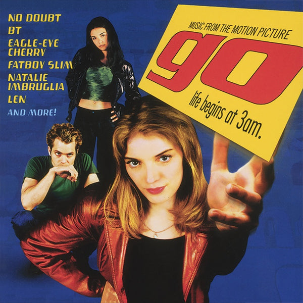 Various Artists - Go (Music from the Motion Picture) - New Vinyl 2 Lp 2018 Real Gone Pressing on 'Gopaque Yellow' Vinyl with Gatefold Jacket (Limited to 700!) - 90's Soundtrack