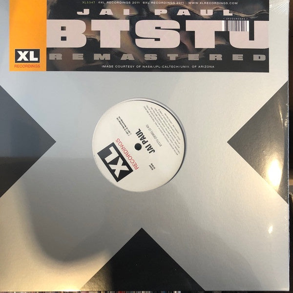 "Jai Paul ‎– BTSTU Remastered - New 12"" Single 2019 XL Recordings Vinyl EU Reissue - Electronic / Funk"