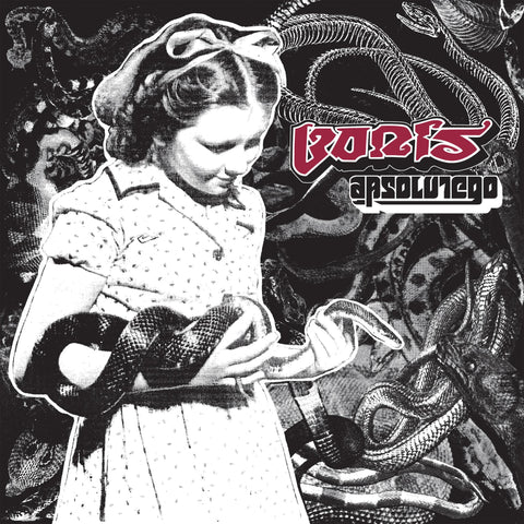 Boris - Absolutego (1996) - New 2 Lp Record 2020 Third Man USA Standard Black Vinyl - Doom Metal / Noise