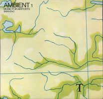 (PRE-ORDER) Brian Eno - Ambient 1  Music For Airports (1978) - New Vinyl 2 Lp 2018 Astralwerks 180gram (45 rpm) Reissue with Gatefold Jacket and Download - Electronic / Ambient