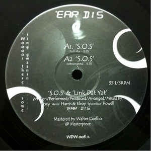 "'Ear Dis ‎– S.O.S - Mint 12"" Single Record  2005 UK WunnaDemWuns Vinyl - Broken Beat"