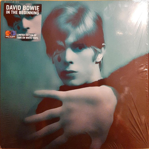 David Bowie ‎– In The Beginning - New Lp Record 2020 Reel-To-Reel Music UK Import White Vinyl  & Numbered - Pop Rock