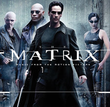 Soundtrack - The Matrix - New Vinyl 2017 Real Gone Music Gatefold 2-LP 'Red and Blue Pill', First-Time-on-Vinyl Pressing, Limited Edition of 1500!
