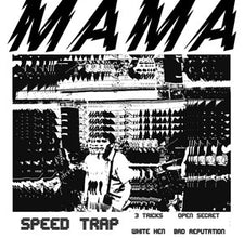 "Mama - Speed Trap - New Vinyl 2016 HoZac Records 7"" EP, Limited Edition 1st Pressing of 200 on Red Vinyl - Chicago IL Power-Pop / Rock"