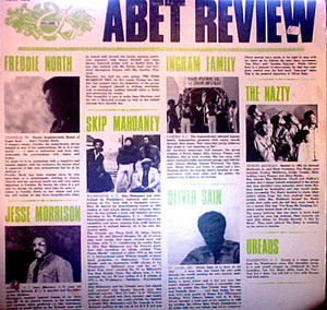 Various ‎– Abet Review (Volume I) - VG- Lp Record 1976 USA Original Vinyl - Funk / Soul