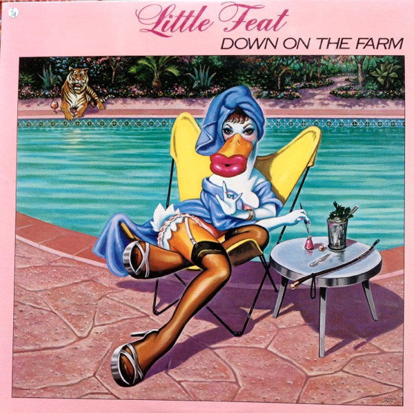 Little Feat ‎– Down On The Farm - VG+ 1979 Stereo USA - Rock