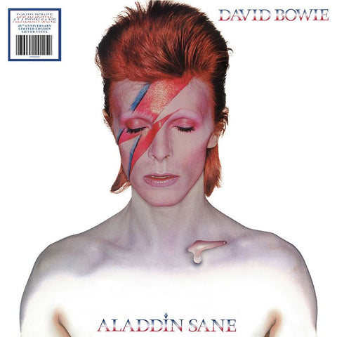 David Bowie - Aladdin Sane - New Vinyl Lp 2018 Rhino / Parlophone '45th Anniversary' Reissue on Limited Edition Silver Vinyl with Gatefold Jacket - Art Rock / Glam