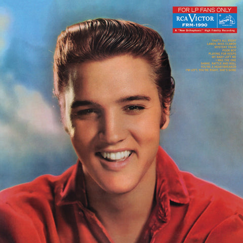 Elvis Presley - For Lp Fans Only (1959) - New Lp 2019 Friday Music 180gram Red Vinyl Reissue - Rockabilly