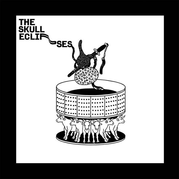The Skull Eclipses - S/T - New Vinyl Lp 2018 Western Vinyl Limited Edition Pressing on Gray Vinyl with Download - Hip Hop / Electronica / Jungle