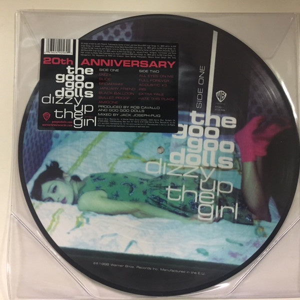 The Goo Goo Dolls ‎– Dizzy Up The Girl - New Vinyl Lp 2018 Warner '20th Anniversary' Picture Disc Reissue - Alt-Rock