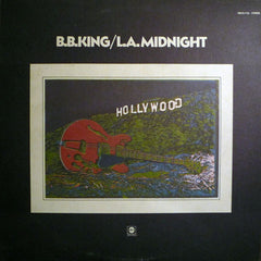 B.B. King - L.A. Midnight - VG- (Low Grade) 1971 Stereo USA Original Press - Blues