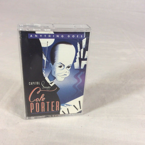 Various ‎– Anything Goes - Capitol Sings Cole Porter - Mint- Cassette Tape 1991 USA - Jazz