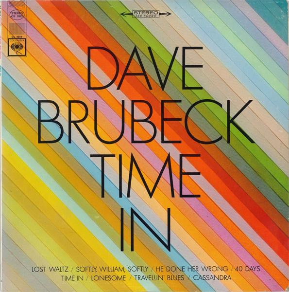 Dave Brubeck ‎– Time In (1966) - New Vinyl Lp 2018 ORG Music 180gram Audiophile EU Reissue (Pressed at Pallas) - Jazz / Hard Bop