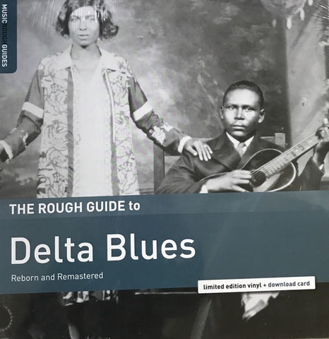 Various / Rough Guide - Delta Blues Reborn + Remastered - New Vinyl Record 2017 Rough Guides Record Store Day LTD Edition of 1200 - Blues