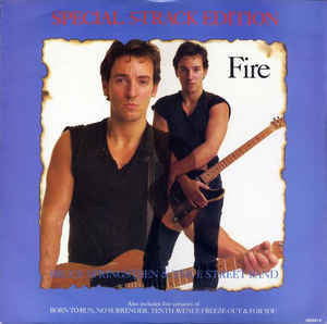 "Bruce Springsteen & The E-Street Band - Fire - Mint- 12"" EP 1987 (UK Import) Original Press - Rock/Pop"