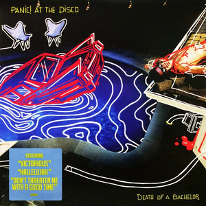 Panic! At The Disco ‎– Death Of A Bachelor - New Lp Record 2016 USA Vinyl & Download - Pop Punk