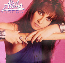 "Alisha - Bounce Back VG+ - 12"" Single 1990 MCA USA - Synth-Pop"