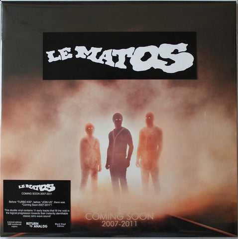Le Matos ‎– Coming Soon 2007-2011 (2011) - New 2 LP Record Store Day 2018 Return To Analog RSD Canada Import Vinyl & Numbered - Electronic / Electro / Synthwave