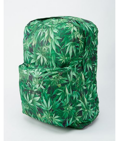 BIG A$$ Pot Leaf Backpack - 2.5 Ft Tall