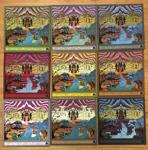 King Gizzard And The Lizard Wizard ‎– Polygondwanaland - New Lp Record 2018 Shuga Exclusive 180 gram Clean Vinyl & Hand Screen Screened Starman Press Cover & Slipmat, Lyric/Liner Notes Insert & Sticker - Psychedelic Rock