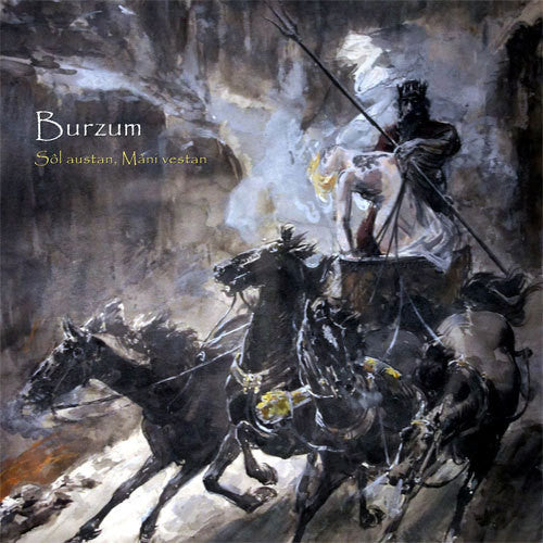 Burzum - Sol Austan, Mani Vestan - New Vinyl Record 2015 Back on Black Gatefold 2-LP Limited Edition Reissue - Black Metal