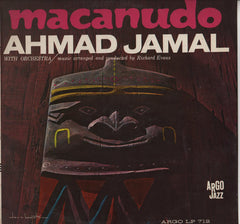 Ahmad Jamal - Macanudo - VG 1963 Mono USA Original Press - Jazz