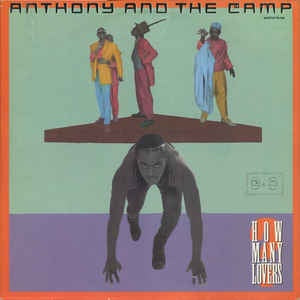 "Anthony And The Camp - How Many Lovers - VG+ 12"" 1986 Warner Bros. Records USA - Garage House / Disco"