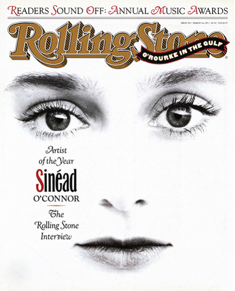 Rolling Stone Magazine - Issue No. 599 - Sinead O'Connor