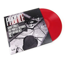 Various Artists - Giant Single: Profile Records Rap Anthology Vol. 1 - New Vinyl 2017 Sony Legacy Record Store Day Exlusive Remastered Gatefold 2-LP on Red Vinyl + Download, Limited to 2500 - Rap / Hip Hop