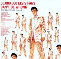 Elvis Presley ‎– 50,000,000 Elvis Fans Can't Be Wrong (Elvis' Golden Records Vol. 2) - New Vinyl 2015 DOL EU Import 180gram Vinyl Reissue - Rock