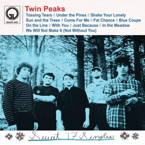 Twin Peaks - Sweet '17 Singles - New Lp Record 2019 USA Shuga Records Exclusive White Vinyl 300 Made - Chicago Garage Rock