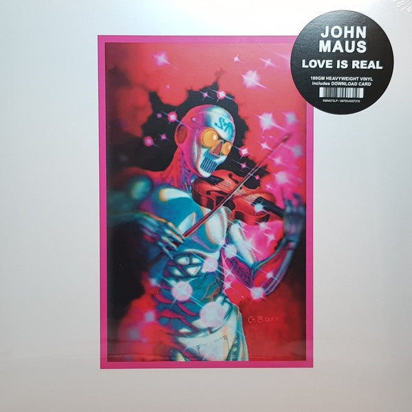 John Maus - Love Is Real - New Vinyl 2018 Ribbon Music 180gram Pink Transparent Vinyl with Download - Electronic / New Wave