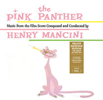 Henry Mancini ‎– The Pink Panther (Music From The Film Score) - New Vinyl Lp 2018 DOL 180gram EU Import Reissue with Gatefold Jacket - 60's Soundtrack