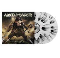 Amon Amarth ‎– Berserker - New 2 Lp 2019 Metal Blade White with Black Splattered Vinyl - Metal