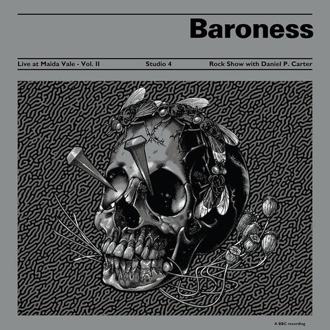 Baroness ‎– Live At Maida Vale BBC - Vol. II - New EP Record Store Day Black Friday 2020 Abraxan Hymns Clear With Black/White Splatter Vinyl - Heavy Metal