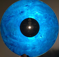 Mungion - Scary Blankets - New Limited Polar Ice Melt Translucent Blue Swirl Colored Vinyl Record 2016 Shuga Records Exclusive - 65 Made / Numbered - Chicago Progressive Jam Band