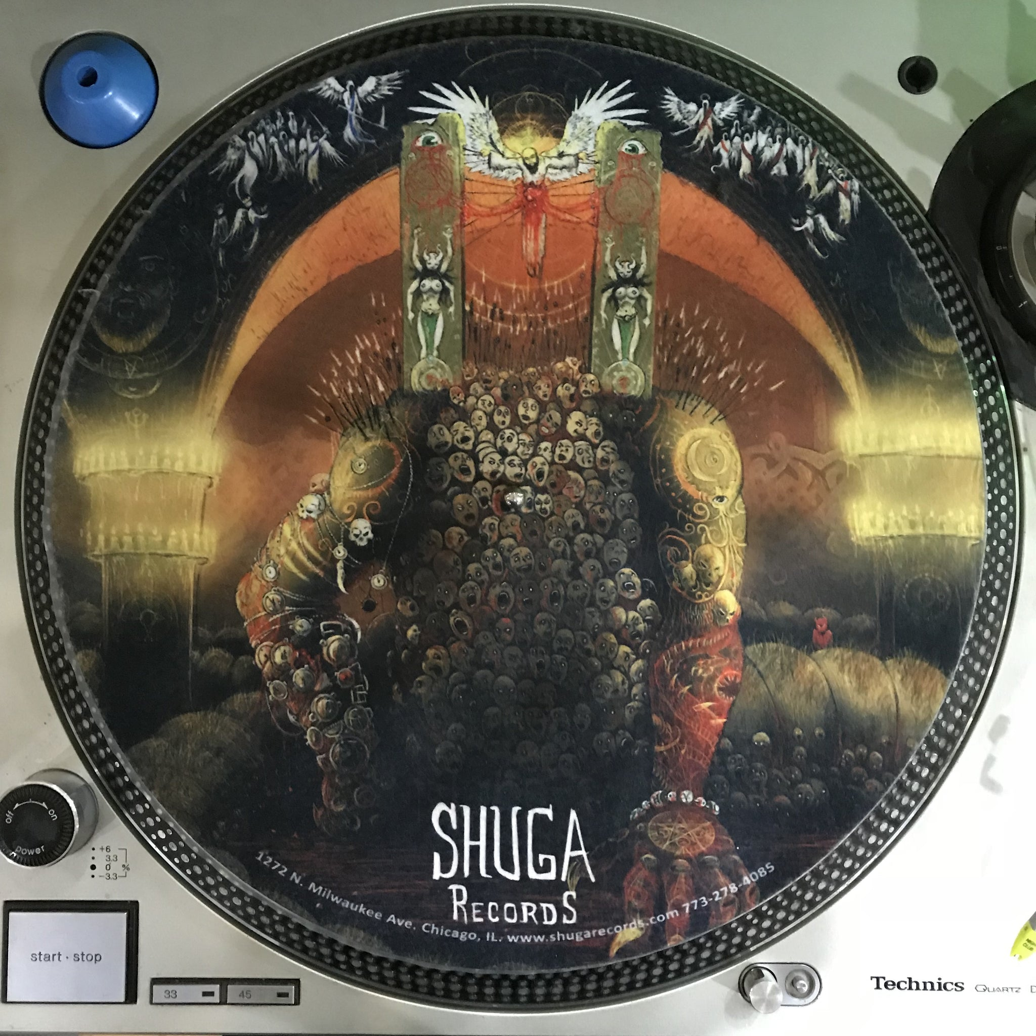 Shuga Records 2018 Limited Edition Vinyl Record Slipmat Master Of Puppets