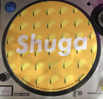 Shuga Records 2018 Limited Edition Vinyl Record Slipmat Tacos