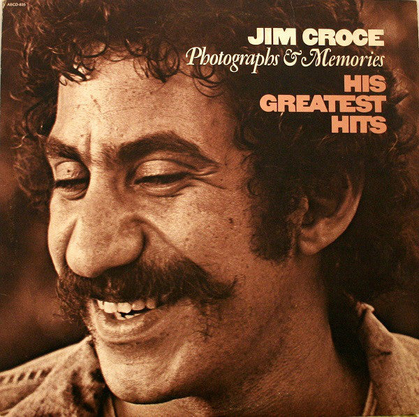 Jim Croce ‎– Photographs & Memories (His Greatest Hits) - Mint- 1974 Stereo Original Press Vinyl USA - Rock
