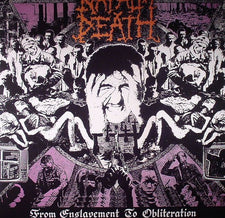 Napalm Death ‎– From Enslavement To Obliteration (1988) - New Vinyl 2017 Earache Reissue from the Original Masters - Grindcore / Death Metal / Thrash