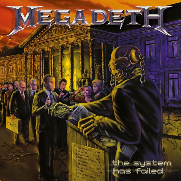 Megadeth - The System Has Failed (2004) - New Vinyl Lp 2019 BMG 180gram Remaster - Speed Metal / Thrash