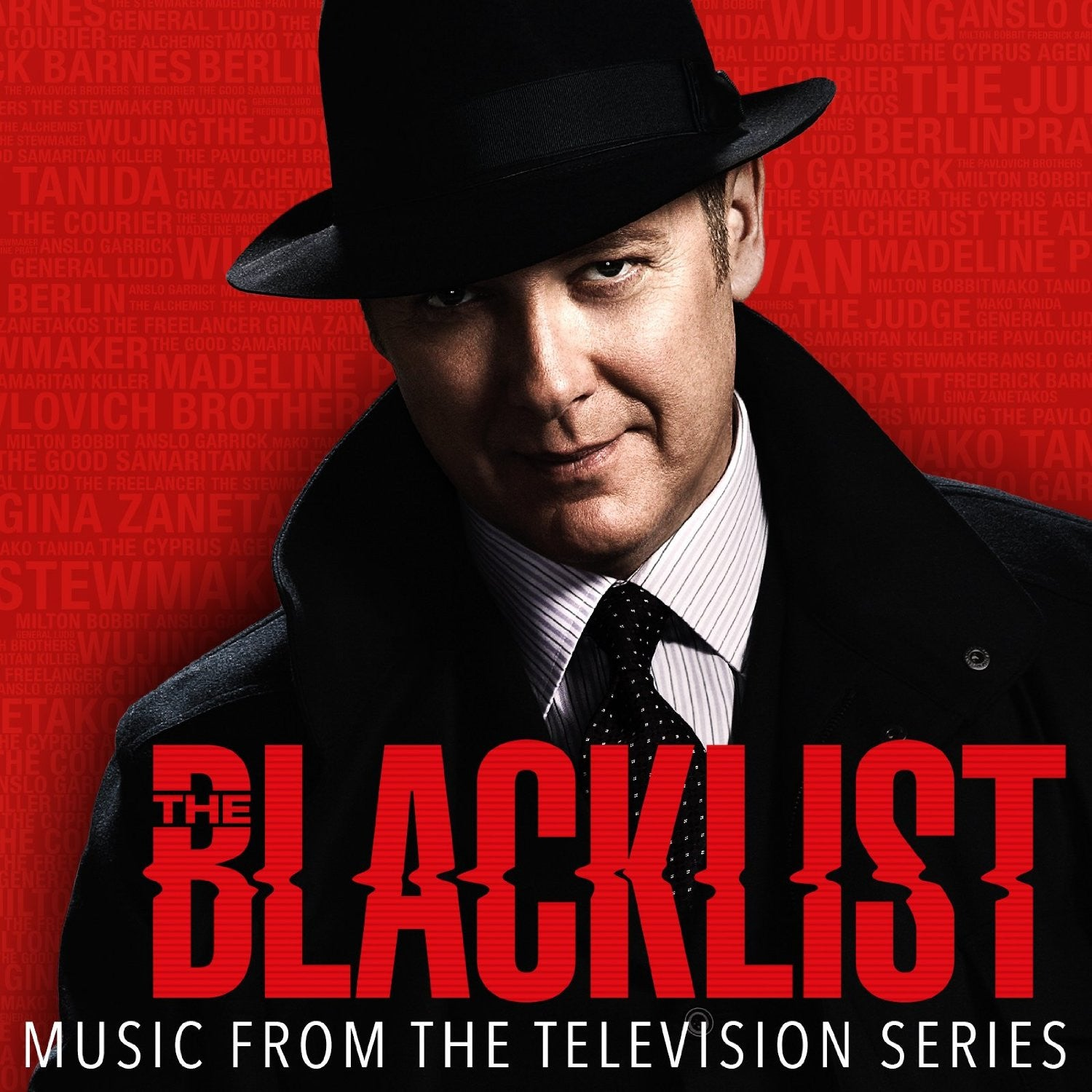 Soundtrack - The Blacklist - New Vinyl 2016 Spacelab Record Store Day 'Decoder Ring' Red Vinyl, Limited to 1500