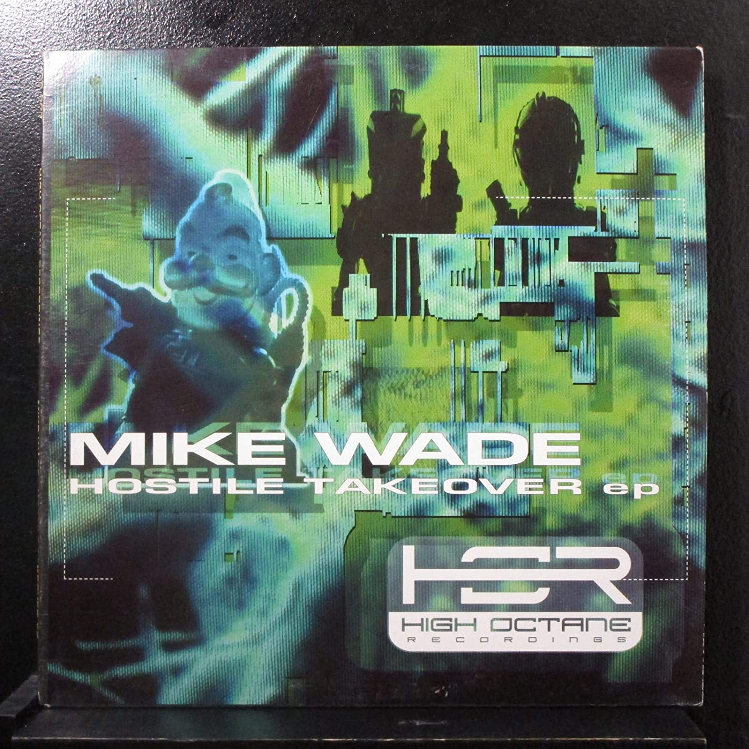 "Mike Wade ‎– Hostile Takeover - New 12"" Single Record 1998 High Octane USA Vinyl - Chicago Techno"