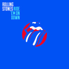 "Rolling Stones - Ride 'Em On Down - New Vinyl 2016 RSD Black Friday 10"" on Electric Blue Vinyl, LTD to 3000 copies worldwide - Rock"