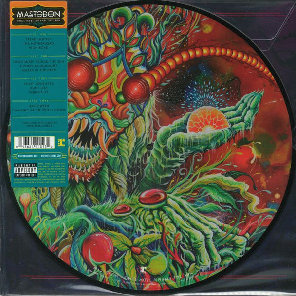 Mastodon - Once More 'Round The Sun - New Vinyl 2 Lp 2018 Reprise Picture Disc Reissue - Sludge Metal