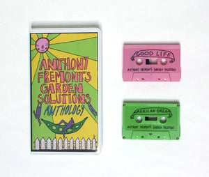 Anthony Fremont's Garden Solutions ‎– Anthony Fremont's Garden Solutions: Anthology - New Cassette 2 EP 2017 Sooper Special Edition Colored Tapes - Prog / Jazz-Rock / Math Rock
