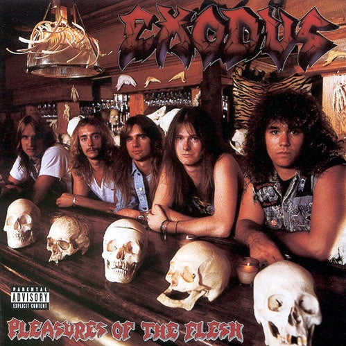 Exodus ‎– Pleasures Of The Flesh (1987) - Red Music USA Limited Edition Red Opaque Vinyl Reissue - Thrash Metal